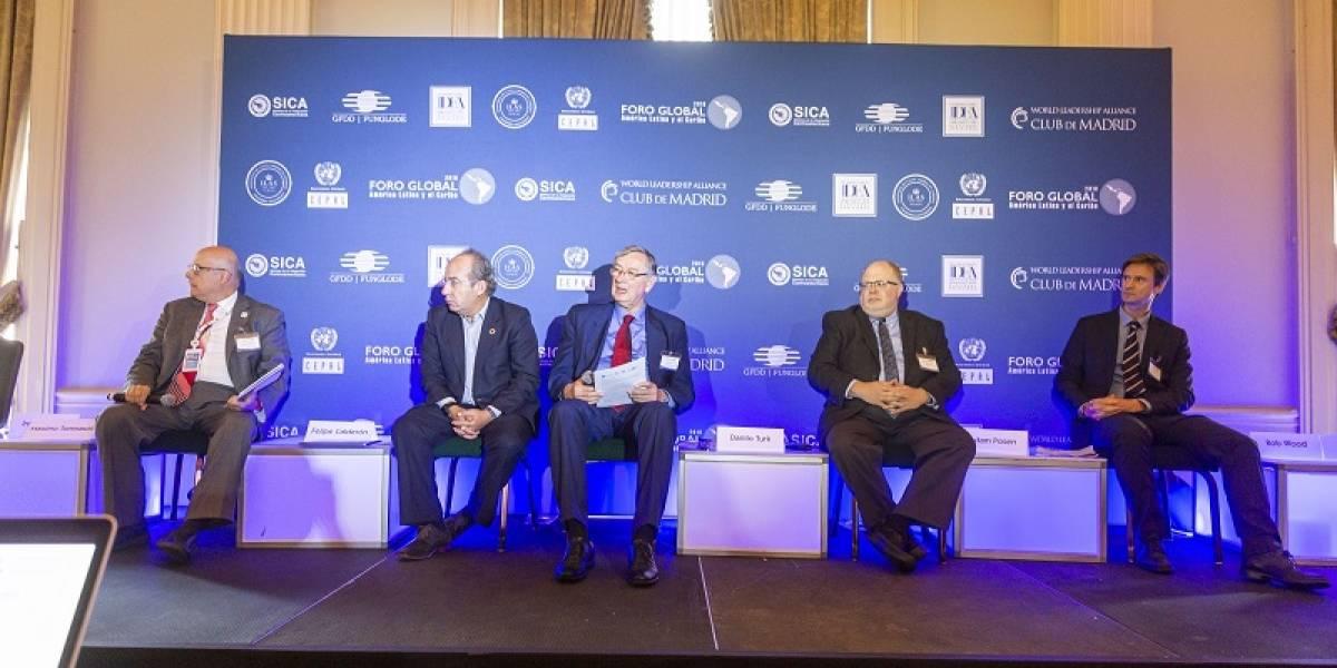 Leonel Fernández da la bienvenida al II Foro Global América Latina y el Caribe