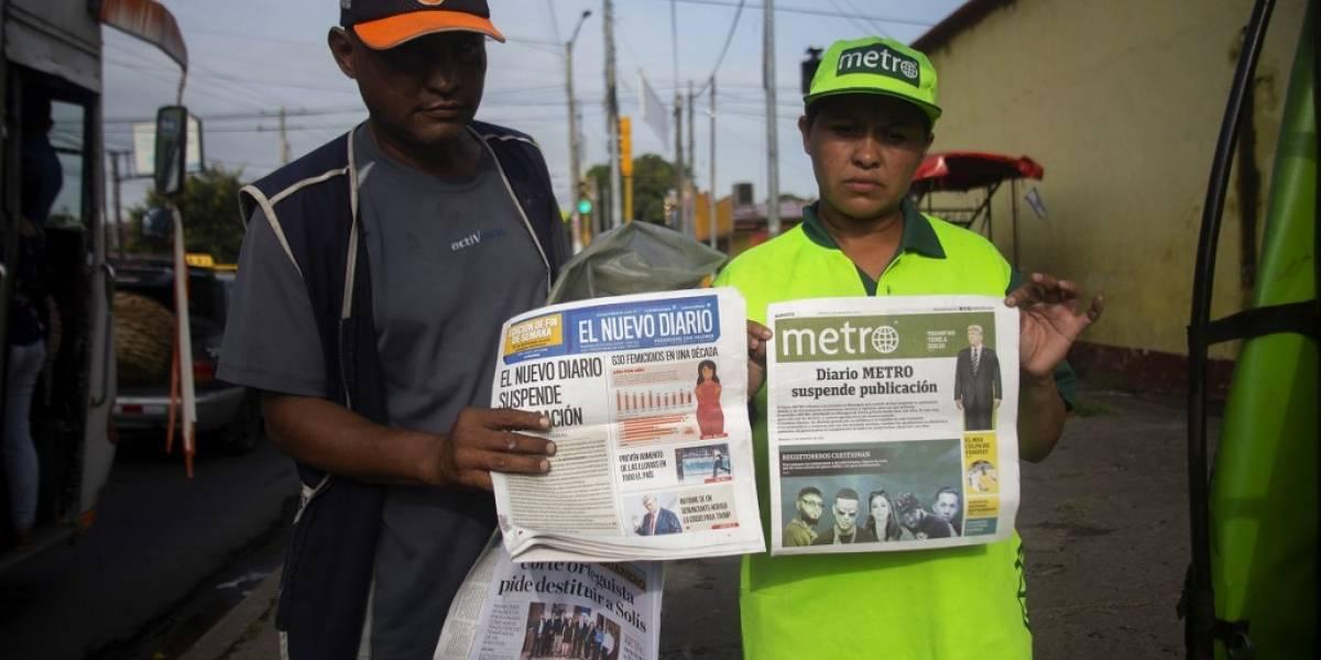 Cierran periódicos de Nicaragua golpeados por embargo gubernamental sobre tinta y papel