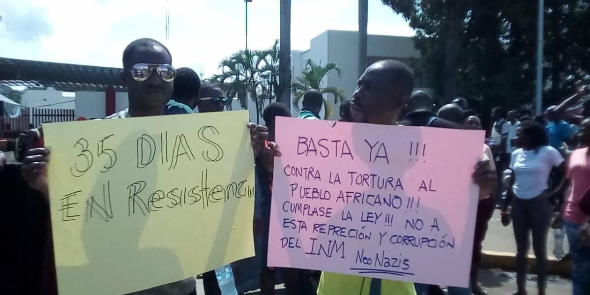 Migrantes varados en Tapachula anuncian marcha a la CDMX