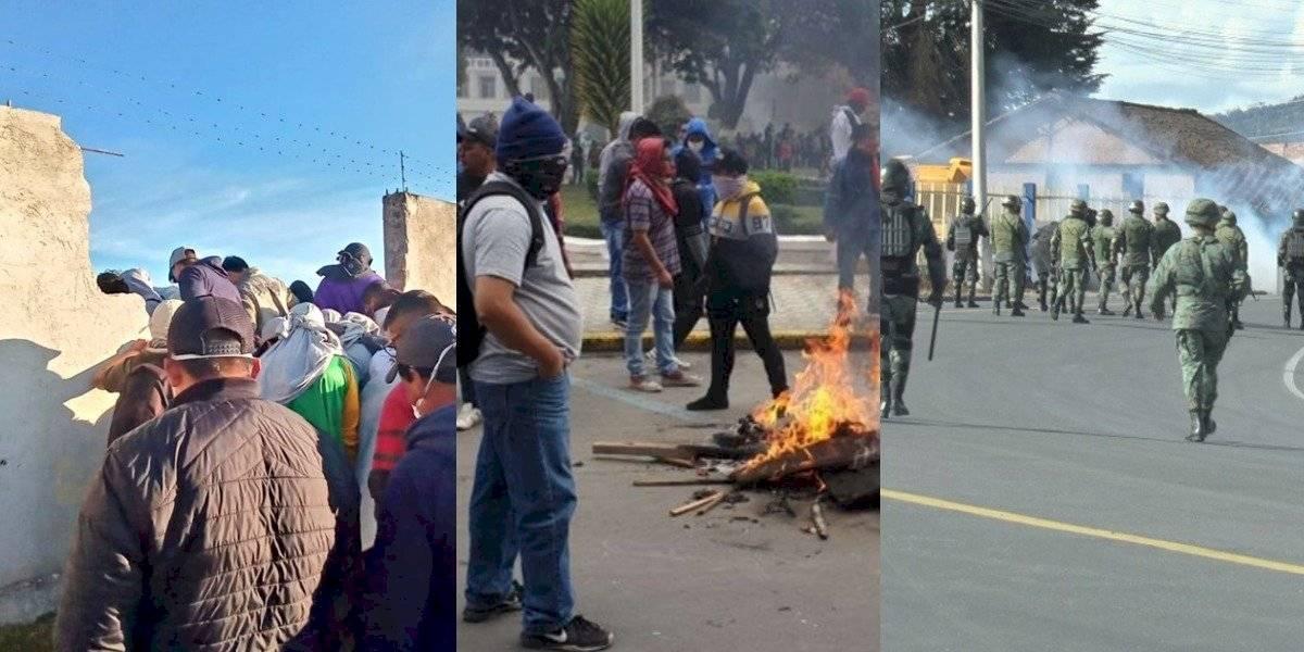Manifestaciones en Carchi: ¿Cuáles son los sectores afectados por las protestas?