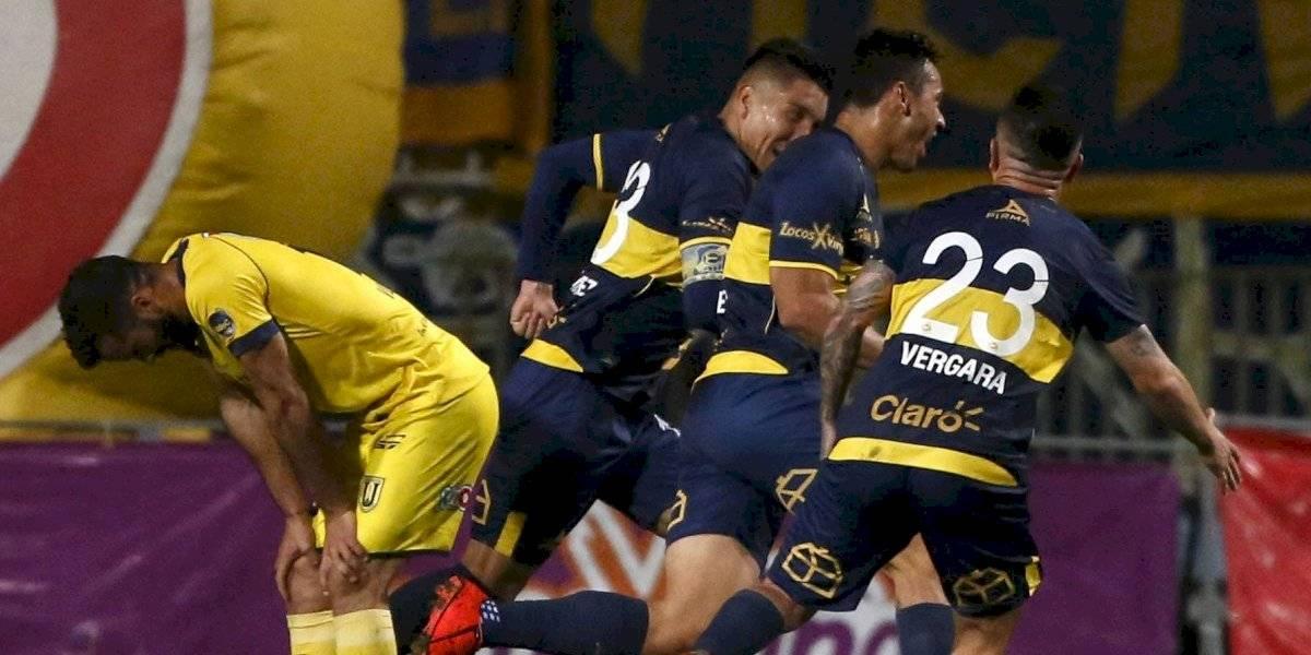 Everton derrota a Universidad de Concepción con un agónico gol que lo aleja del descenso y le da un respiro a la U