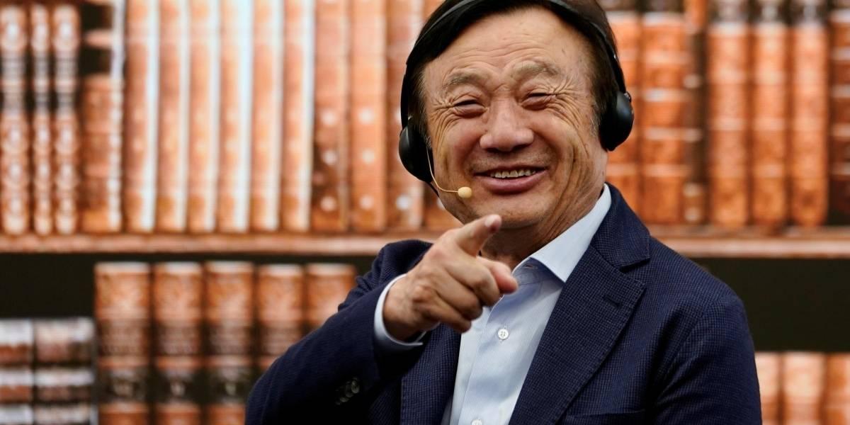 El fundador de Huawei habla en entrevista y compara el impacto del 5G al de los trenes