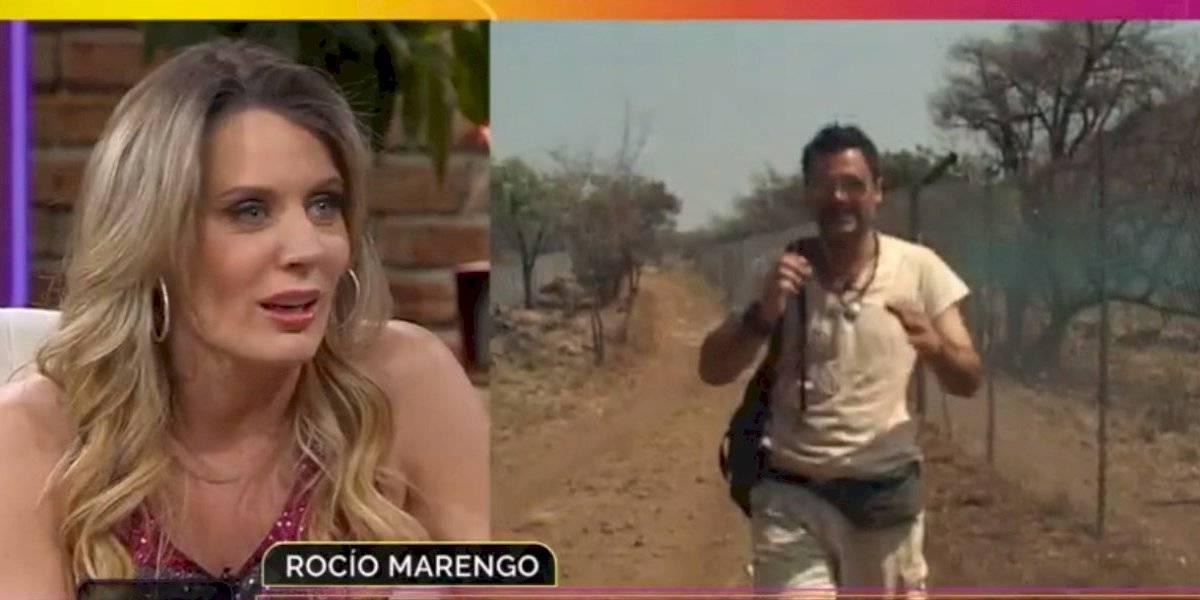 """Rocío Marengo confesó que estuvo enamorada de Felipe Camiroaga: """"Teníamos una linda relación de confianza"""""""