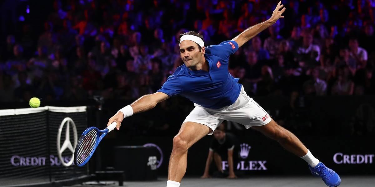 Confirma Federer partido ante Zverev en México
