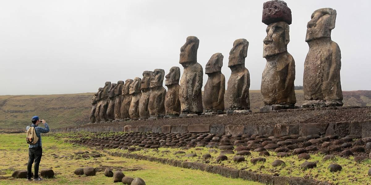 En un 80% han aumentado los viajes a Rapa Nui durante el 2019
