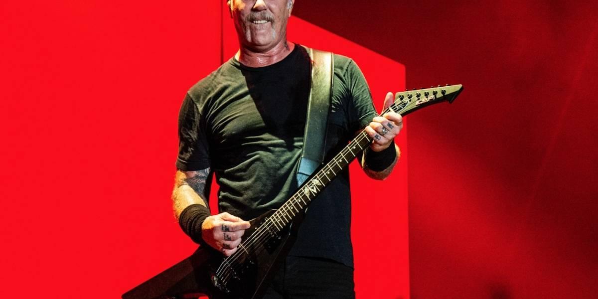 Metallica cancela gira por rehabilitación de James Hetfield