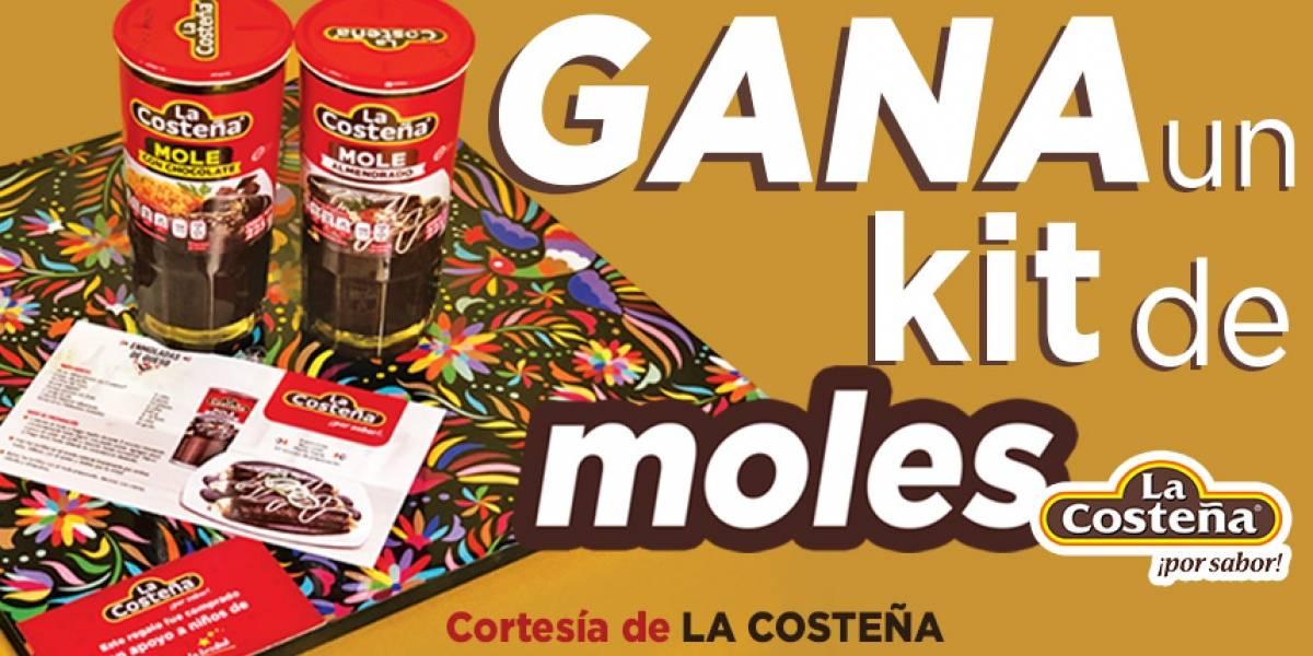 ¡Gana! Un kit de moles LA COSTEÑA