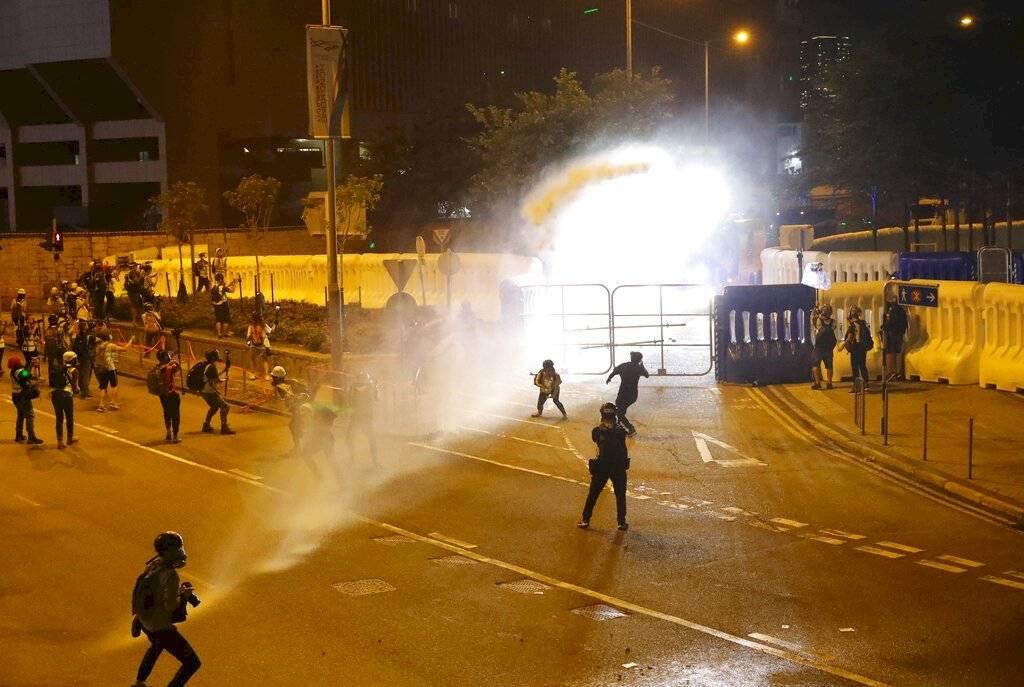 Enfrentamientos en Hong Kong