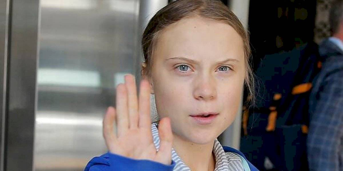 """Greta dedica premio de """"la persona del año"""" a jóvenes que han participado del movimiento contra el cambio climático"""