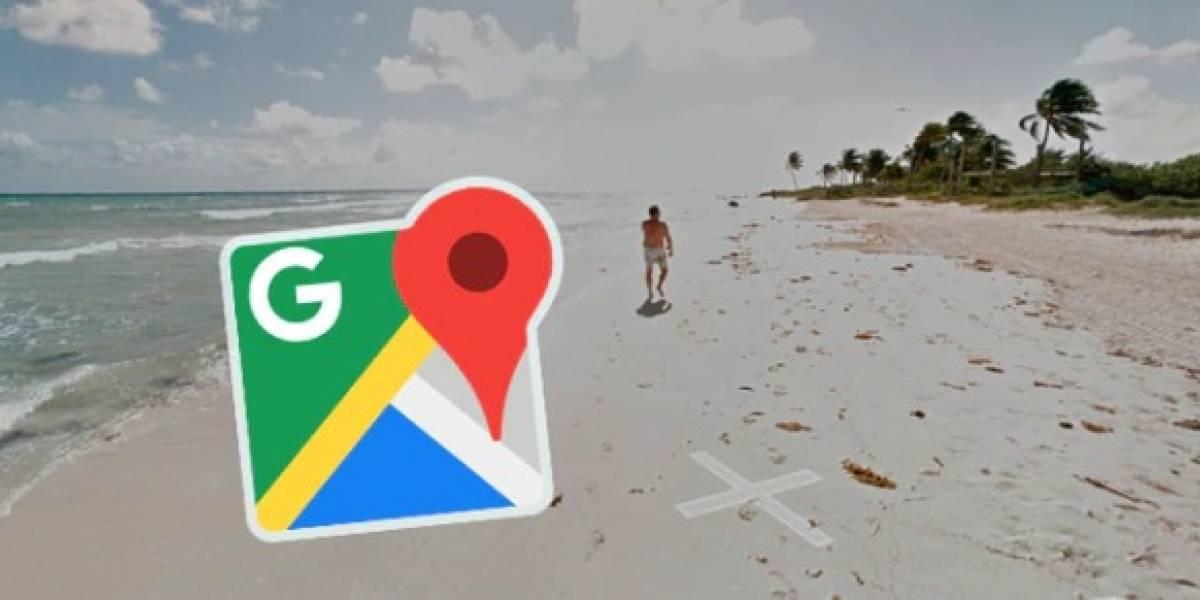 Un recorrido por Google Maps descubrió unos 'extraños bañistas' en una playa de EE.UU