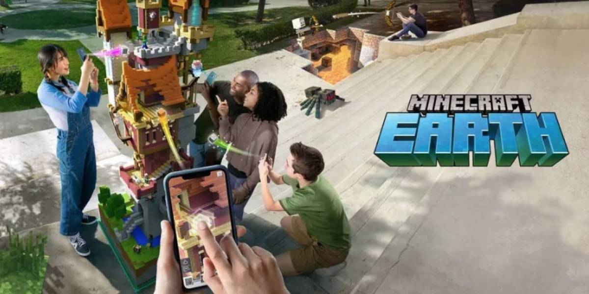 Primer vistazo a Minecraft Earth: el esperado juego de realidad aumentada ya tiene fecha de lanzamiento