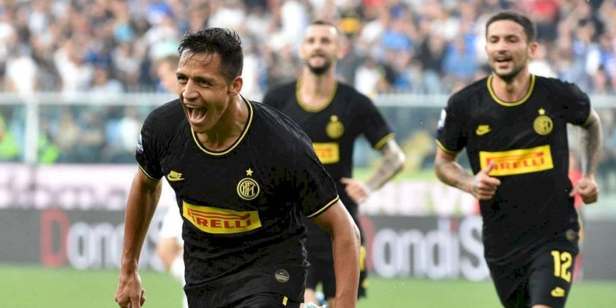 Inter de Milán sigue puntero del Calcio con Alexis Sánchez que vivió las dos caras de la moneda
