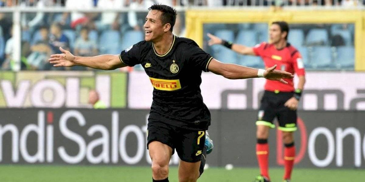 """El """"feliz"""" Alexis Sánchez criticó su """"injusta"""" expulsión en su día de locos por el Inter"""