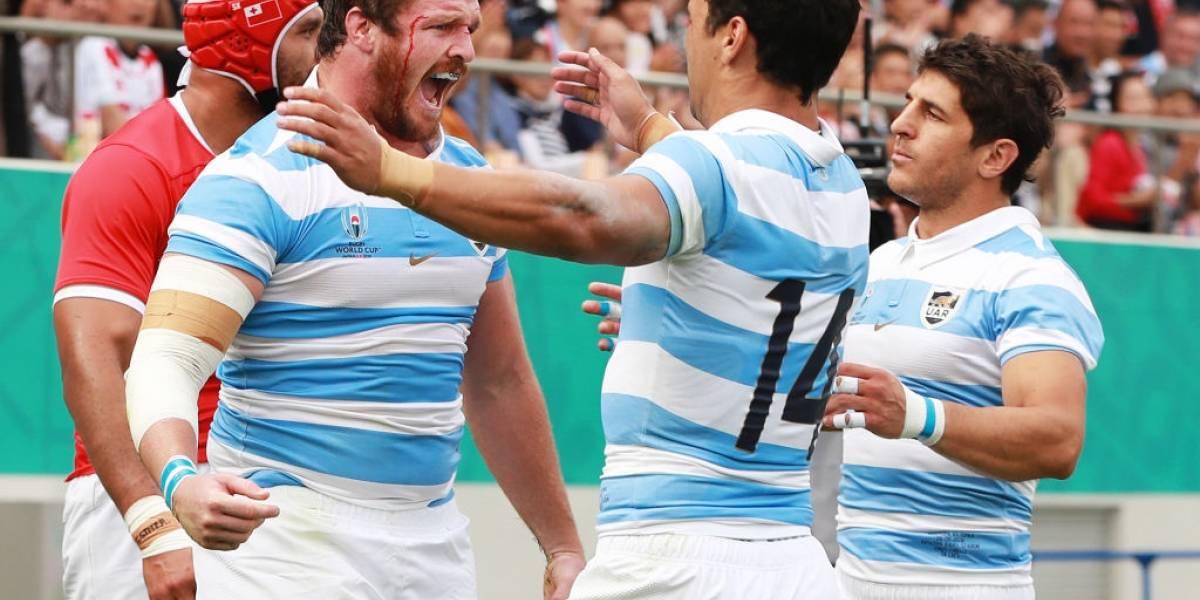 Argentina logró victoria sobre Tonga y Japón consiguió histórico triunfo ante Irlanda en el Mundial de Rugby