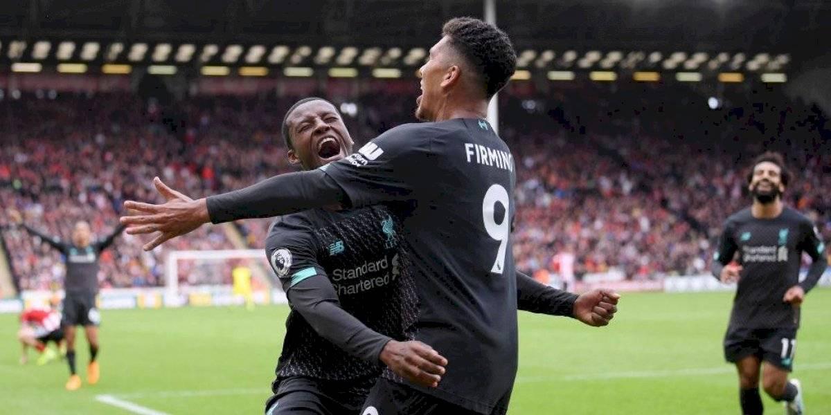 Liverpool derrotó a Sheffield United y estiró su ventaja en lo más alto de la Premier League