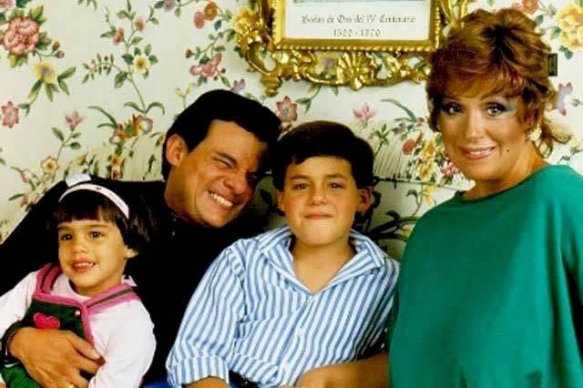 José José, Anel y sus hijos