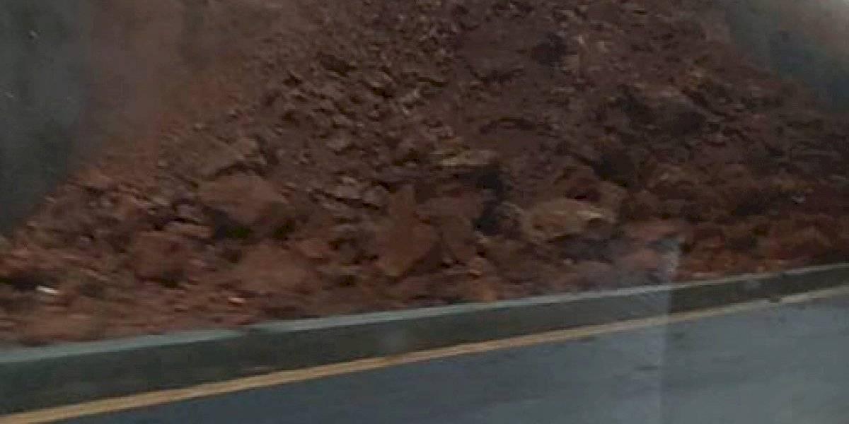 VIDEO. Reportan nuevo derrumbe en Libramiento de Chimaltenango