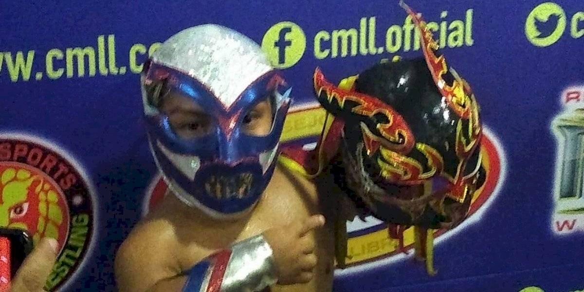 Microman gana la máscara de Chamuel en el 86 aniversario del CMLL