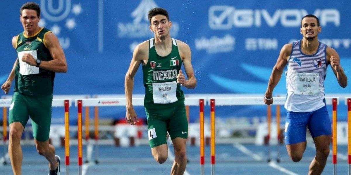 El mexicano Fernando Vega quedó eliminado en la prueba de los 400 metros con vallas