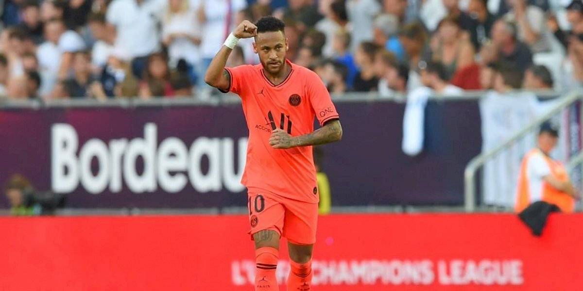 Neymar salva nuevamente al Paris Saint-Germain