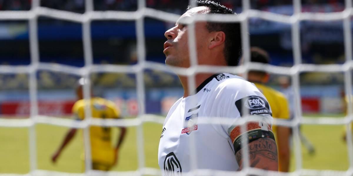 Colo Colo se lo guarda para el Superclásico: Esteban Paredes no fue convocado ante Audax Italiano