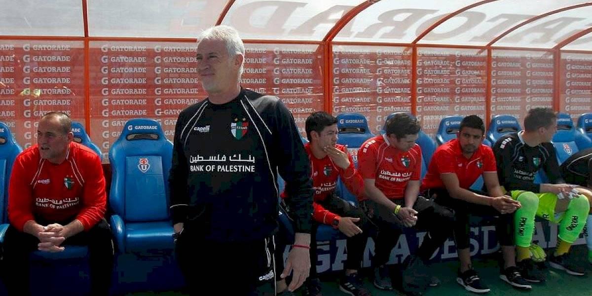 """Basay y el triunfo de Palestino ante la U: """"En el segundo tiempo nos regalaron la mitad de la cancha"""""""