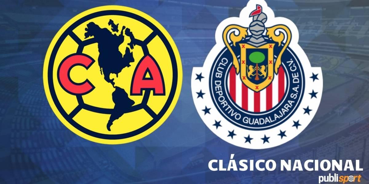 América golea a Chivas en el Estadio Azteca