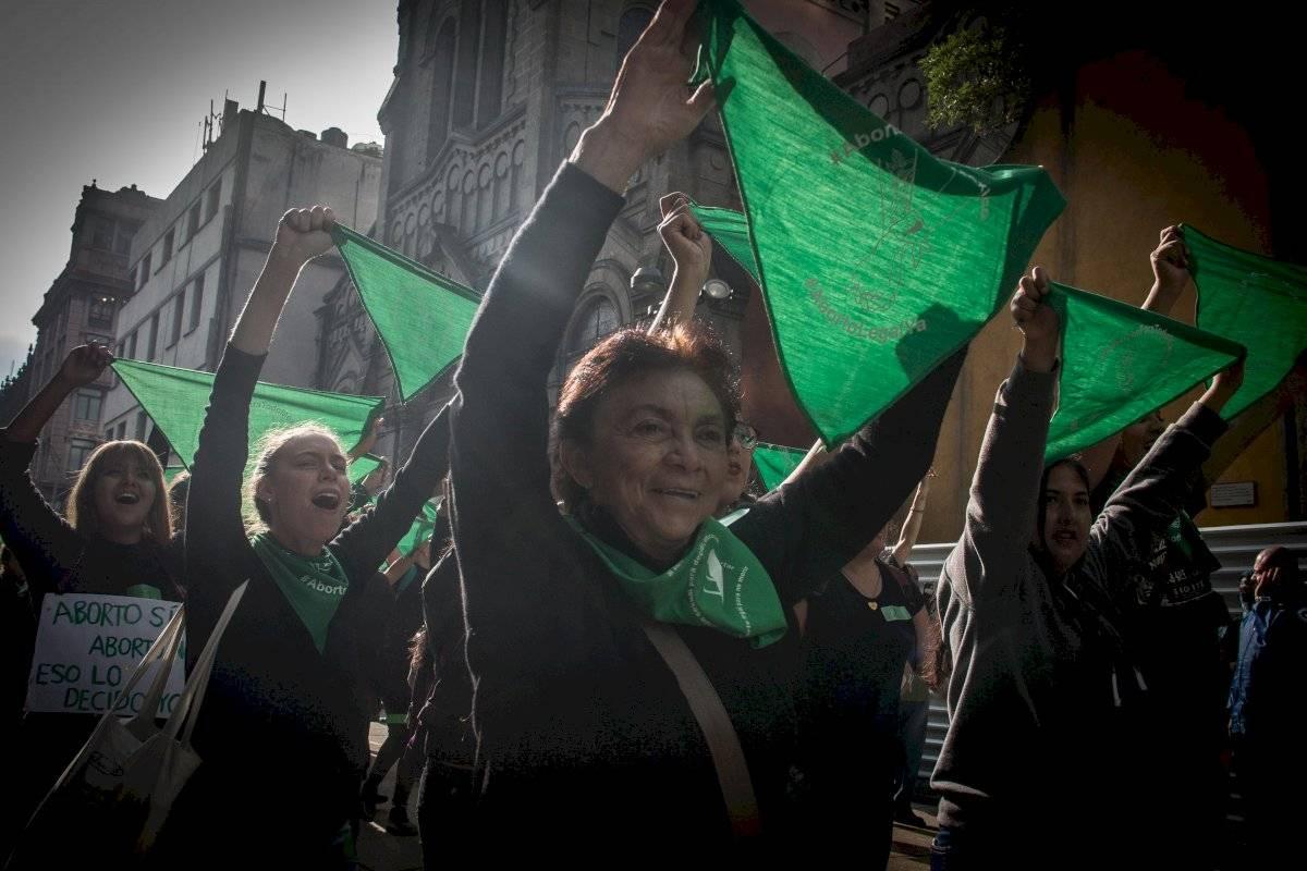 Marea Verde en la Ciudad de México
