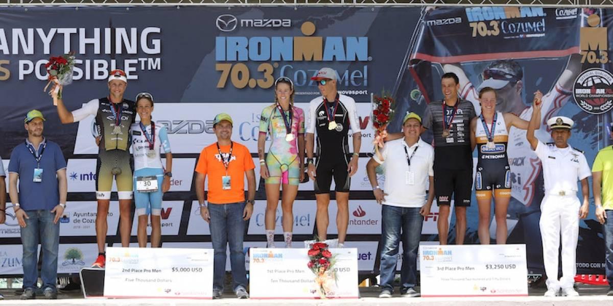 Concluye de manera exitosa la edición 2019 del Ironman 70.3 en Cozumel
