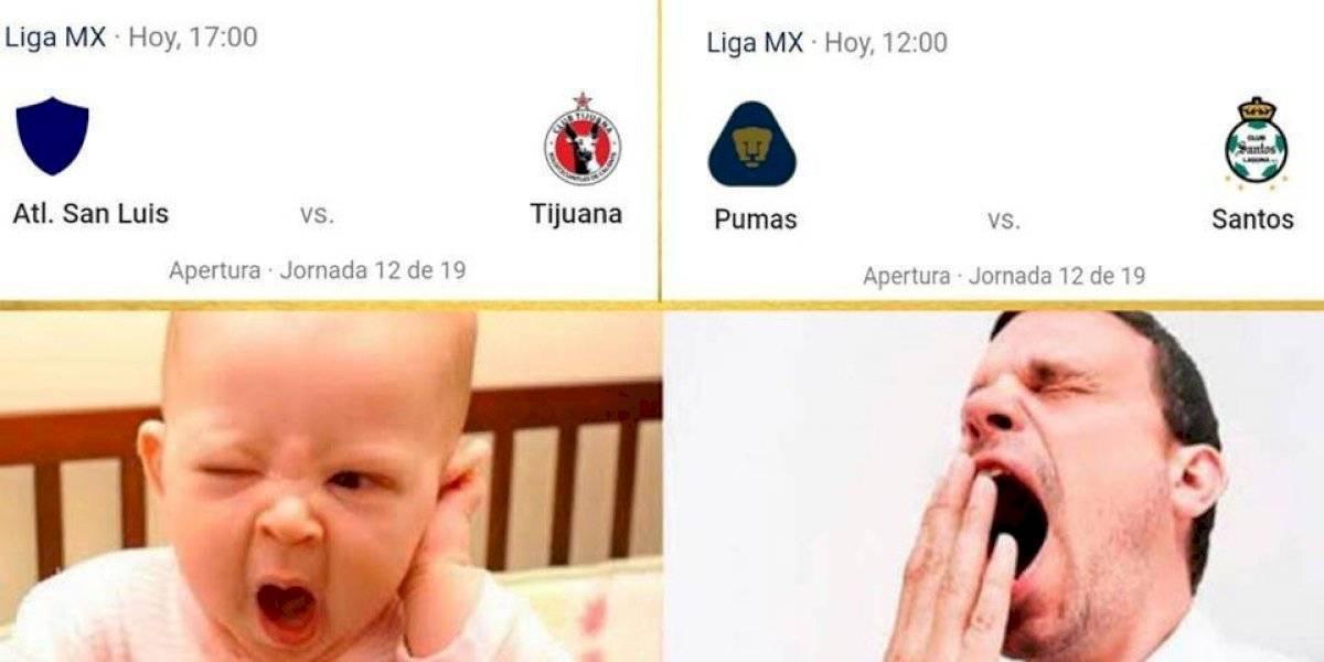 Los mejores memes de la Jornada 12 del Apertura 2019
