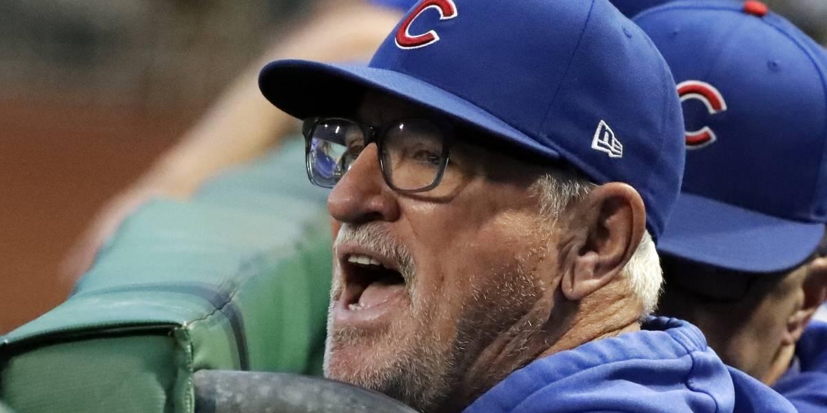 Manager Joe Maddon no regresará en el 2020 con los Cubs