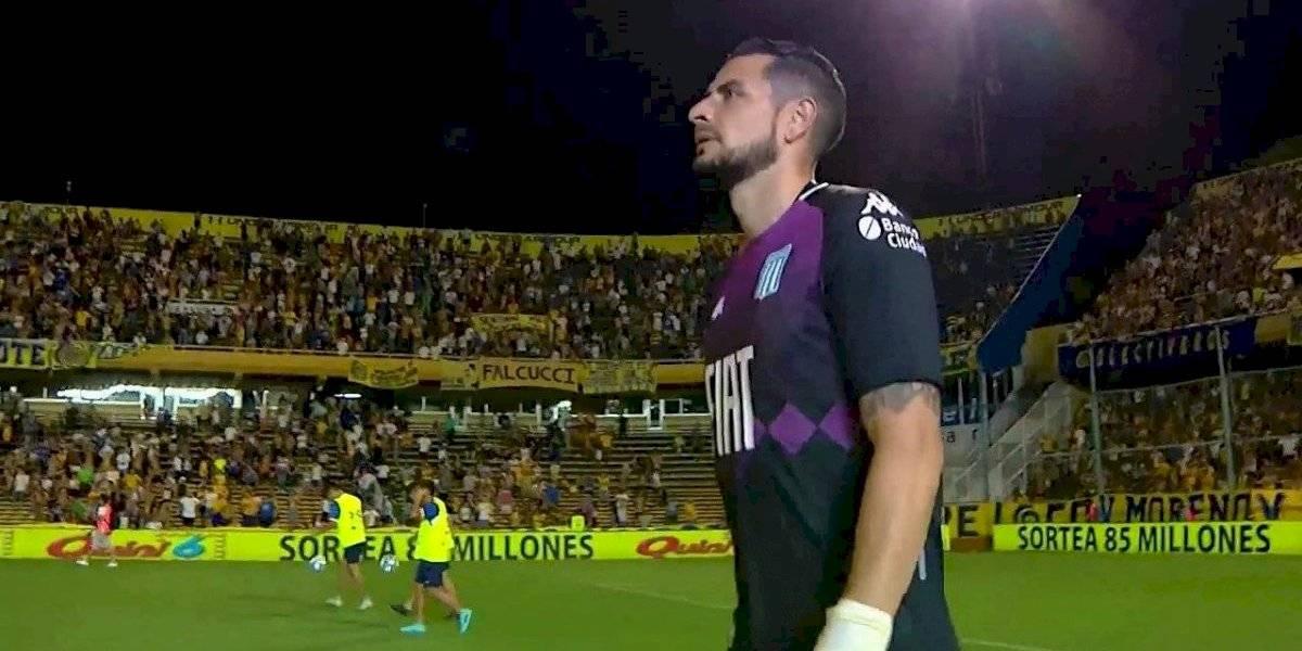 Con un tremendo Gabriel Arias, el Racing de los chilenos rescató un empate ante Rosario Central