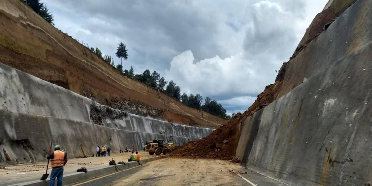 Ocho aspectos sobre los derrumbes en el libramiento de Chimaltenango