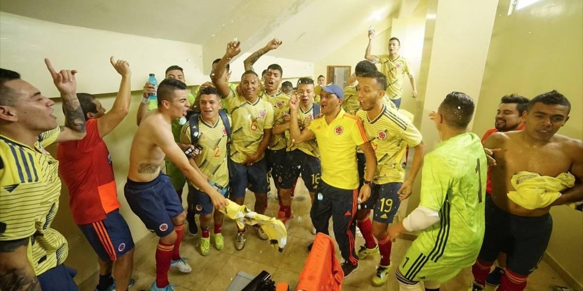 Selección Colombia Mayores y Sub-20 de futsal, campeonas de la Liga Sudamericana Zona Norte