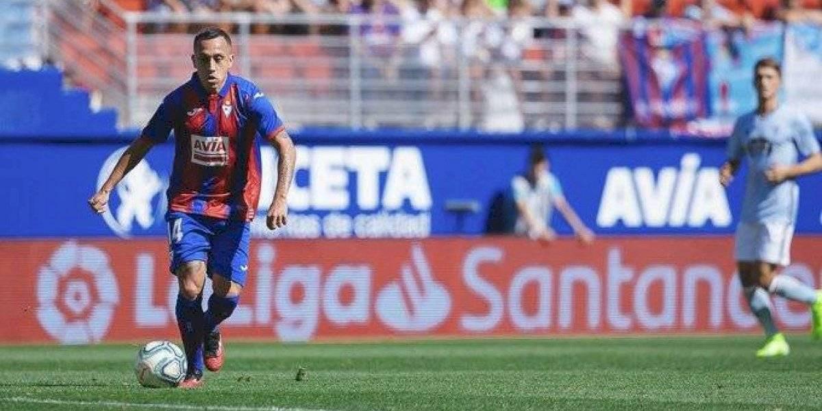 Fabián Orellana sigue en racha goleadora y anotó en importante victoria del Eibar