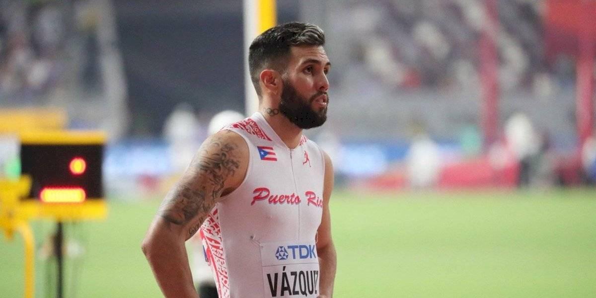 Wesley Vázquez clasifica a la final de 800m en Mundial de Atletismo