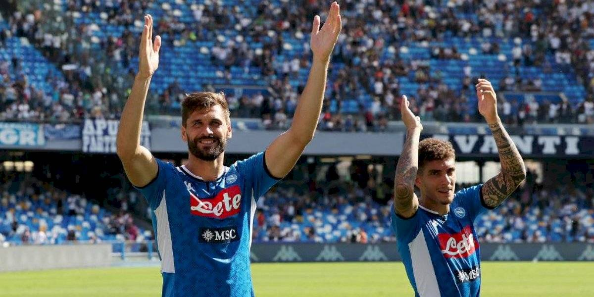 Napoli, sin Hirving Lozano, se mantiene firme en la Serie A