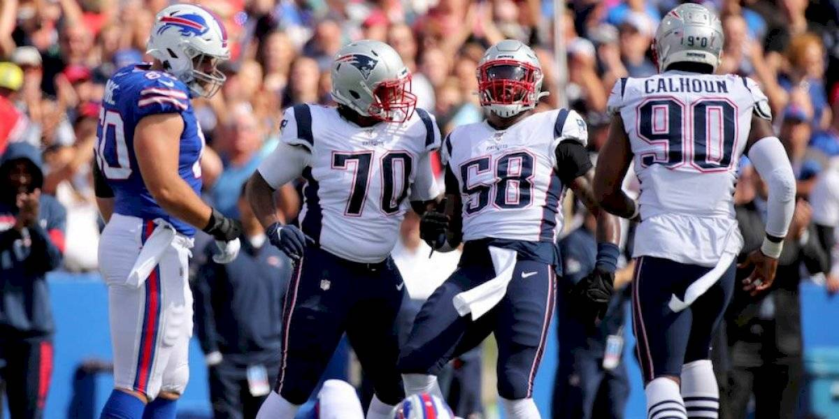 Patriots ganan duelo de invictos a Bills