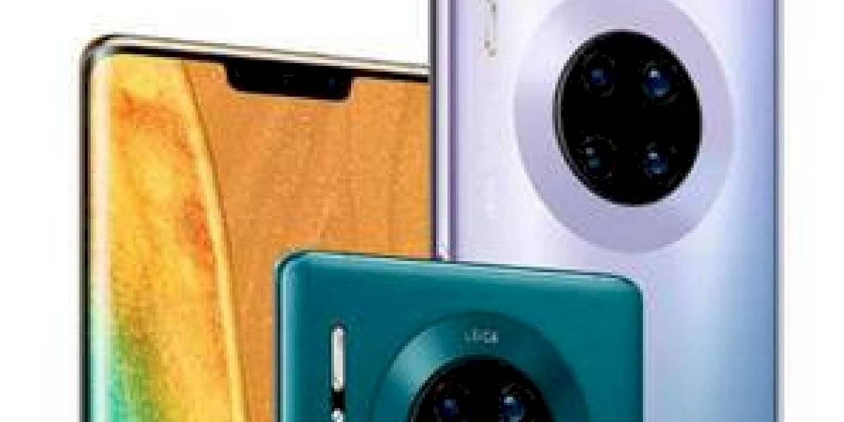 Este es el Huawei Mate 30 Pro, con pantalla ultra curva y súper cámara lenta