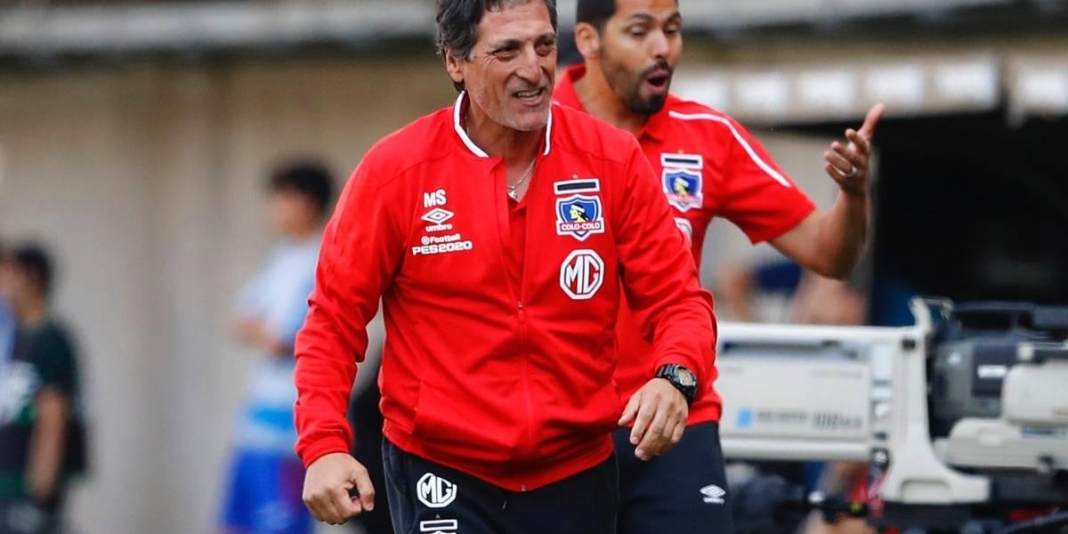 """La felicidad de Mario Salas por el triunfo de Colo Colo: """"Tuvimos la capacidad de dar vuelta el partido y jugando bien"""""""