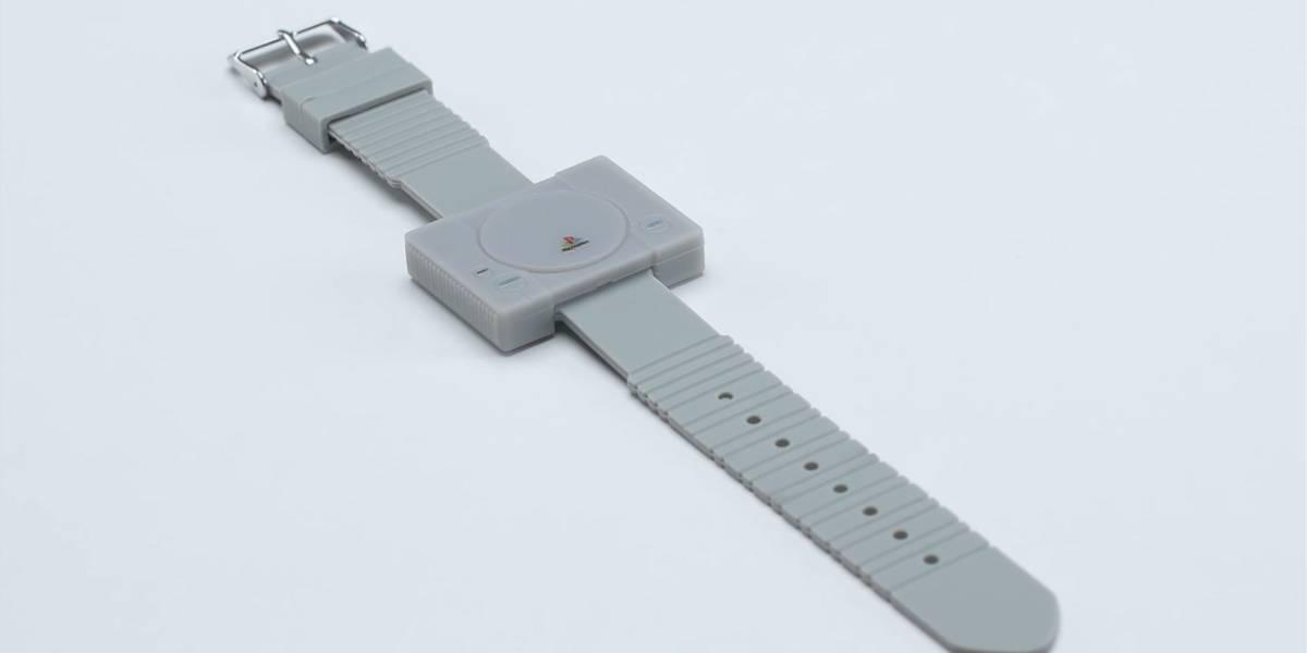 Este reloj de pulsera con forma de PlayStation es todo lo que quieren para Navidad