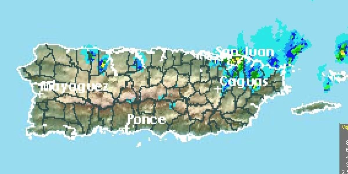 Emiten advertencia y aviso de inundaciones para varios pueblos de la isla