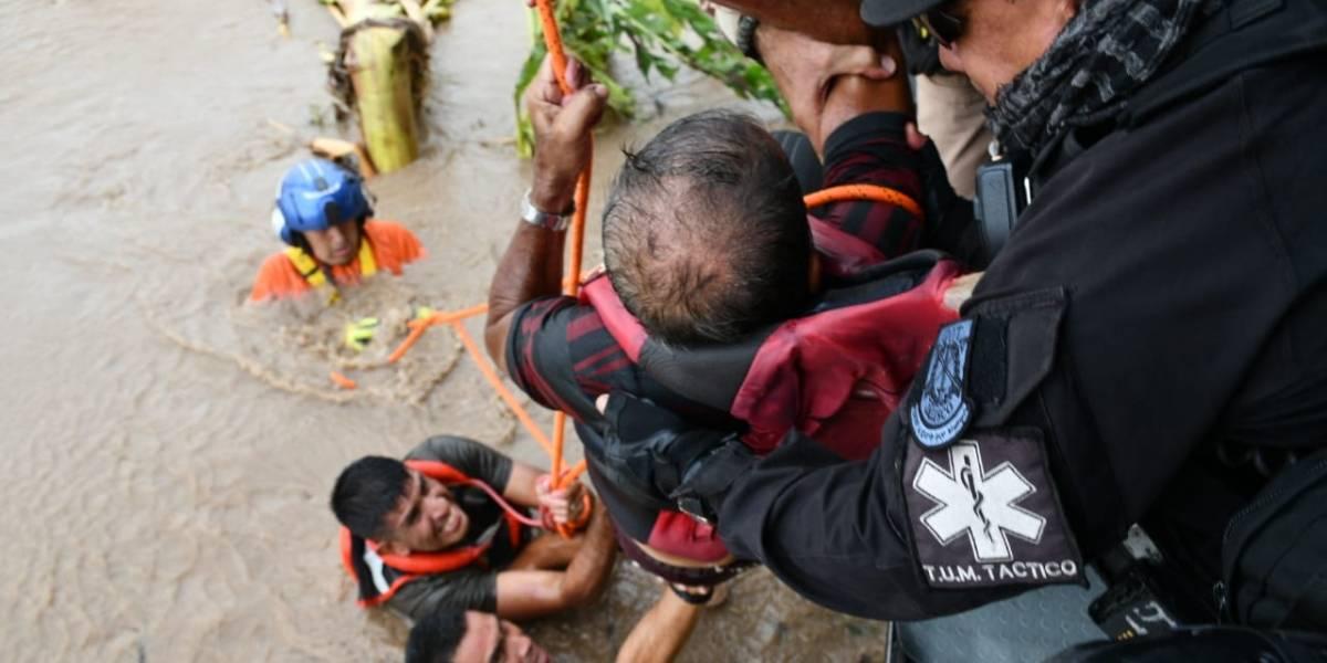 Tormenta 'Narda' causó severos estragos a su paso por costas de Jalisco