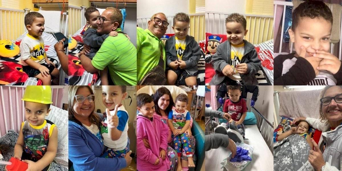 Madre clama ayuda para su hijo diagnosticado con leucemia