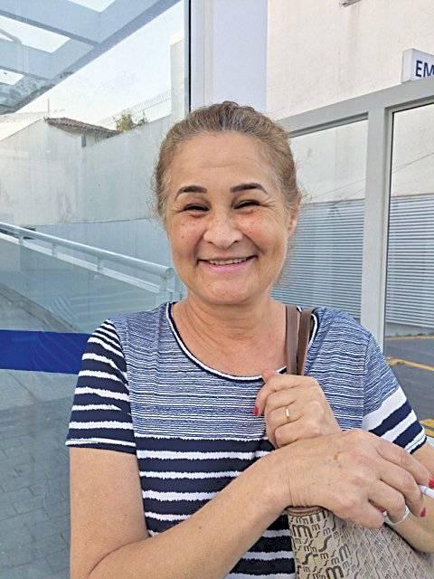 """""""Acredito que a parte mais importante para se manter bem durante os anos é o convívio com a família, ter o amor de todos."""" Zildete Jardim, 60, instrumentadora Metro"""