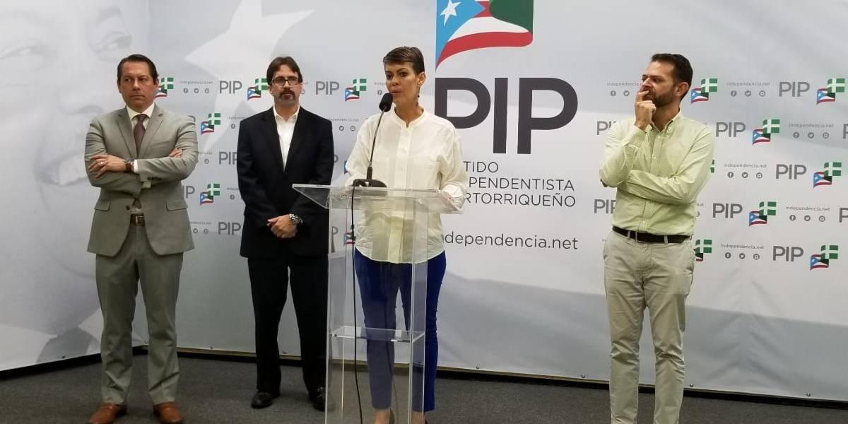 "PIP a Wanda Vázquez y a la Legislatura: ""No basta con su lloriqueo frente a la Junta"""