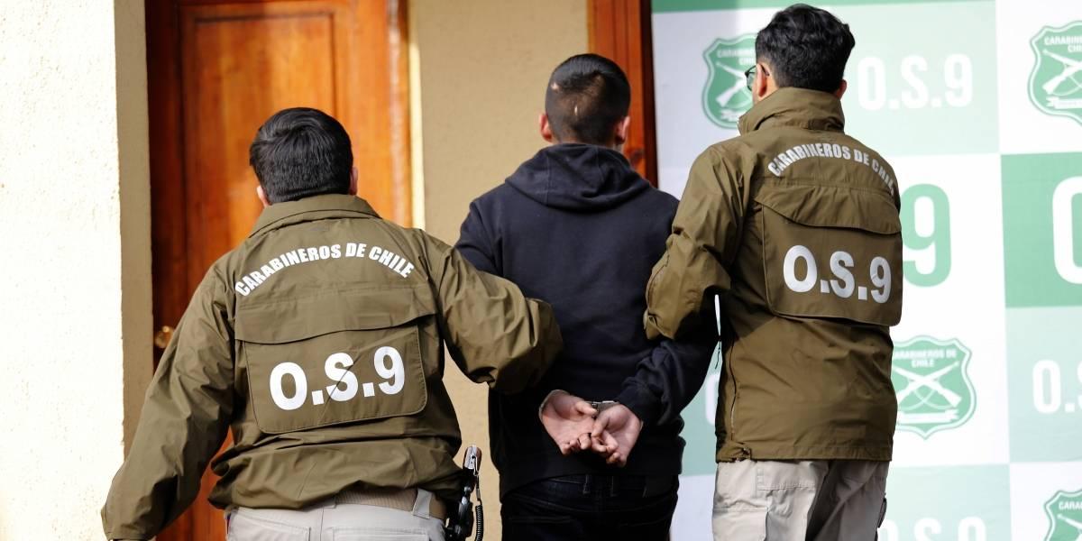 """El """"Cojo César"""": Carabineros detuvo a conocido narcotraficante prófugo por homicidio hace 2 años"""