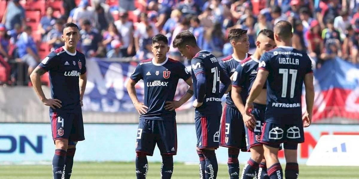 Sebastián Ubilla se suma a los lesionados: la U tiene cuatro dudas para el Superclásico ante Colo Colo