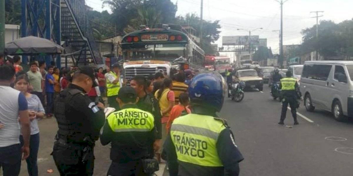 VIDEO. Ataque armado en ruta Interamericana deja 2 heridos