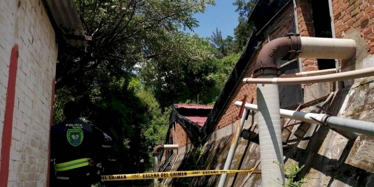 Localizan cuerpo flotando en tanque de captación de agua en Amatitlán